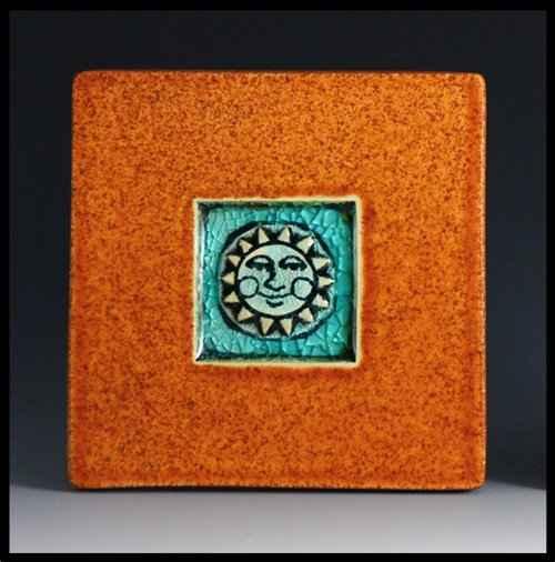 Sun (Blue) Coaster