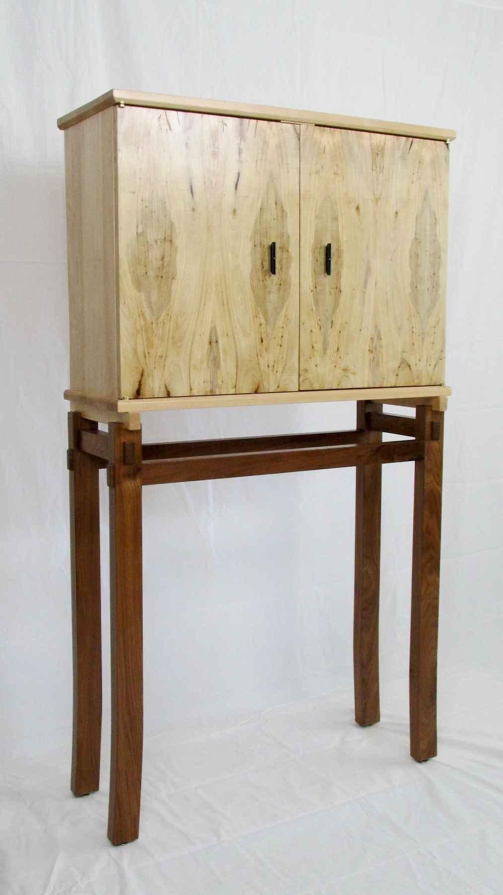 Plumwood Cabinet by  David Keeber - Masterpiece Online