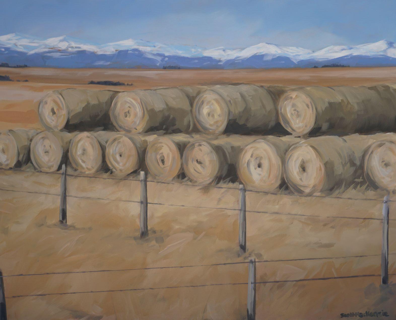 Haybales by  Scott MacKenzie - Masterpiece Online
