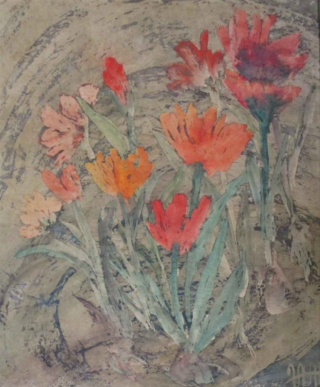 Untitled ( flowers) by  Frances Van Hevelingen - Masterpiece Online