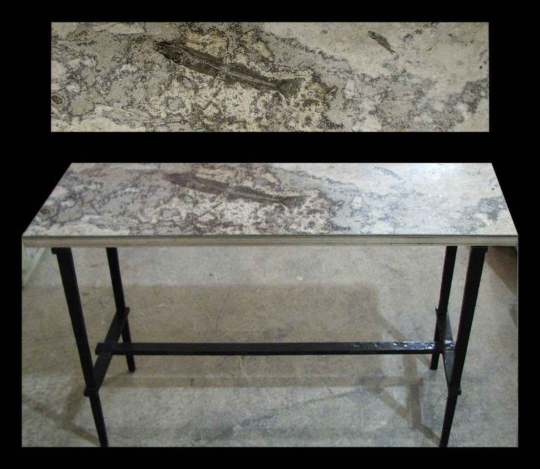 Marvelous Fossil Console Table 5302 By Fossils Sculpture Fossil Spiritservingveterans Wood Chair Design Ideas Spiritservingveteransorg