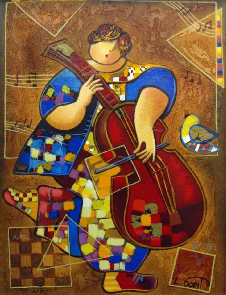 Joyful Evening by  Dorit Levi - Masterpiece Online