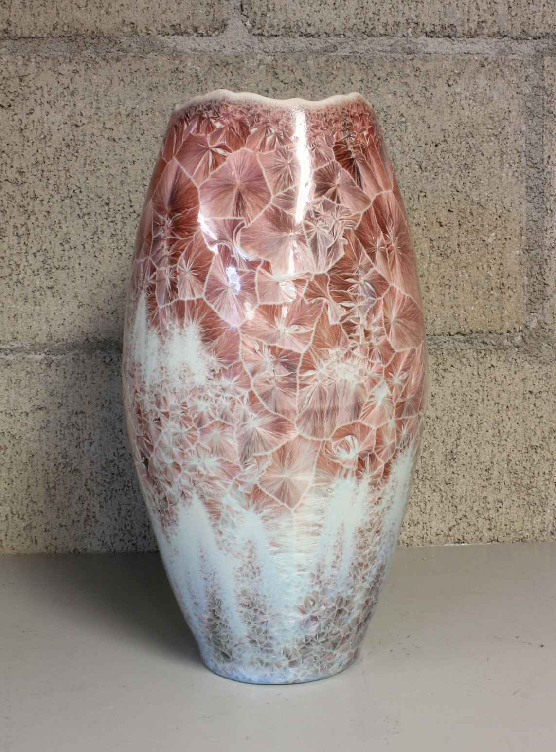 Tall Flower Vase by  Duly Mitchell - Masterpiece Online