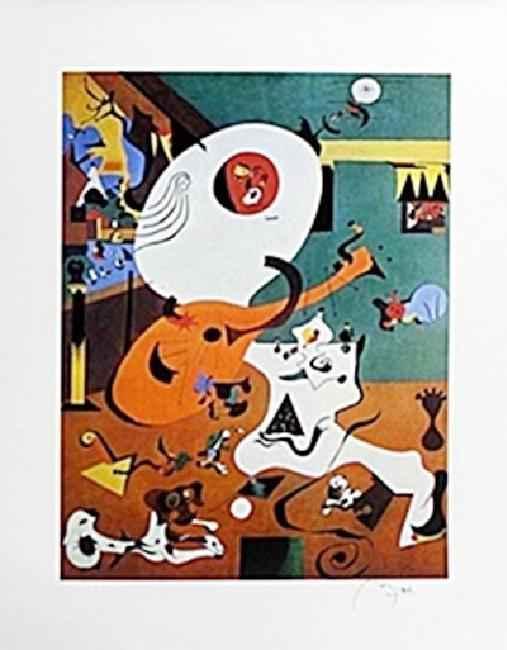 Dutch Interior by  Joan Miro - Masterpiece Online