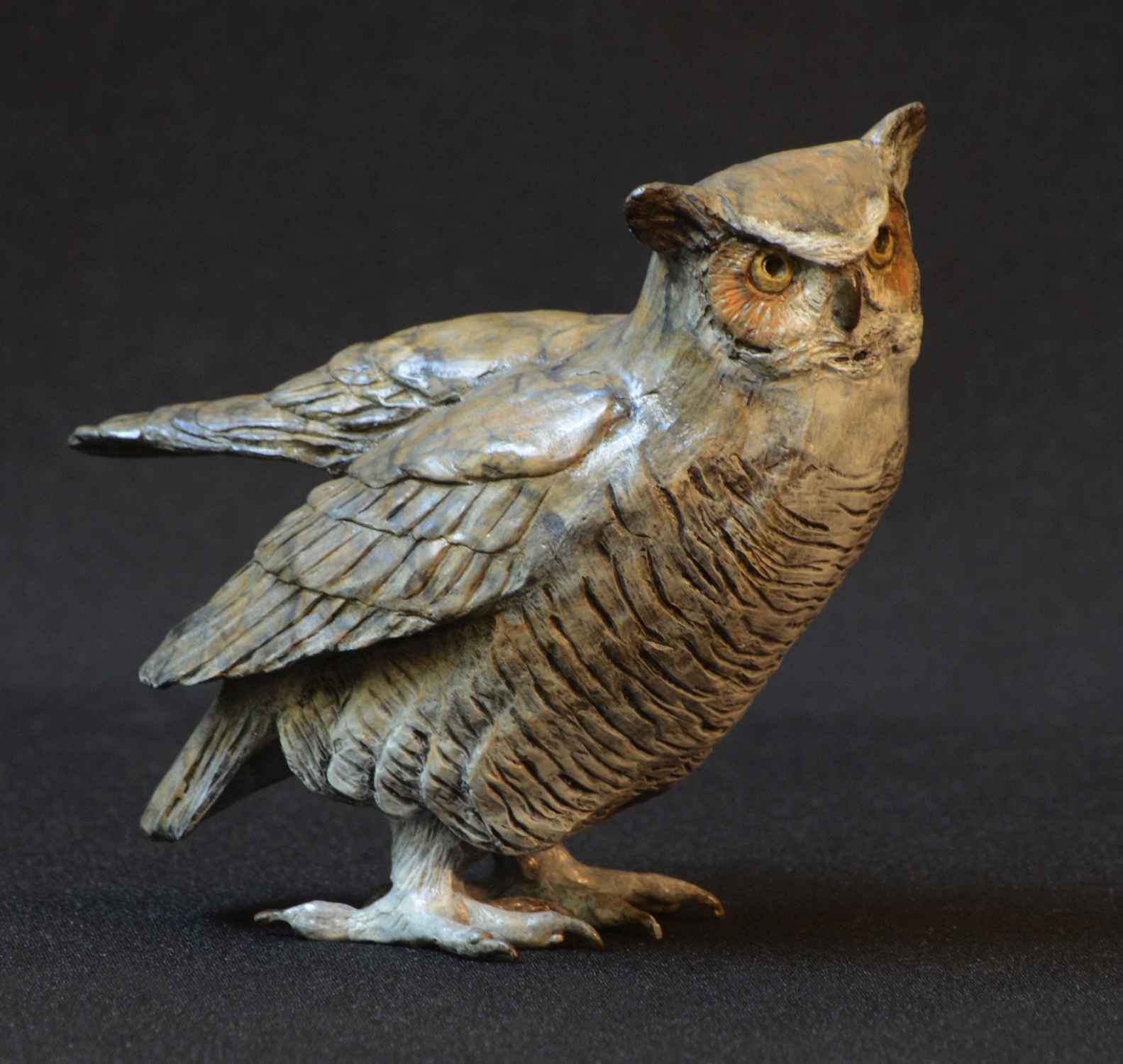 Small Horned Owl IV by  Jim Eppler - Masterpiece Online