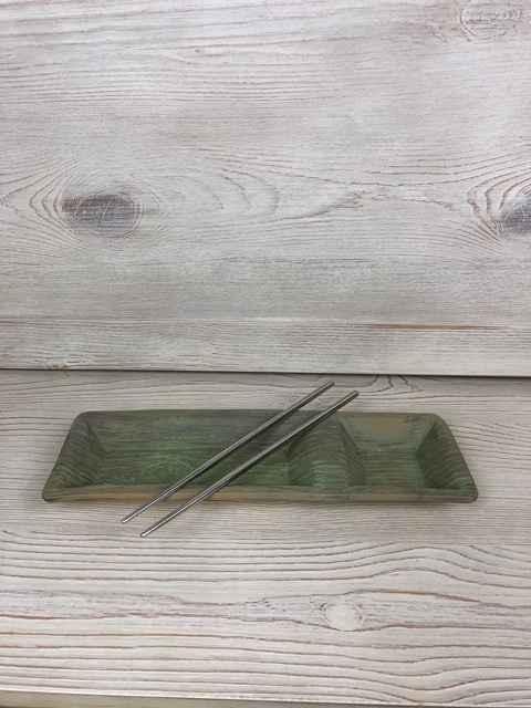 Sushi Dish - Barn Wood Green