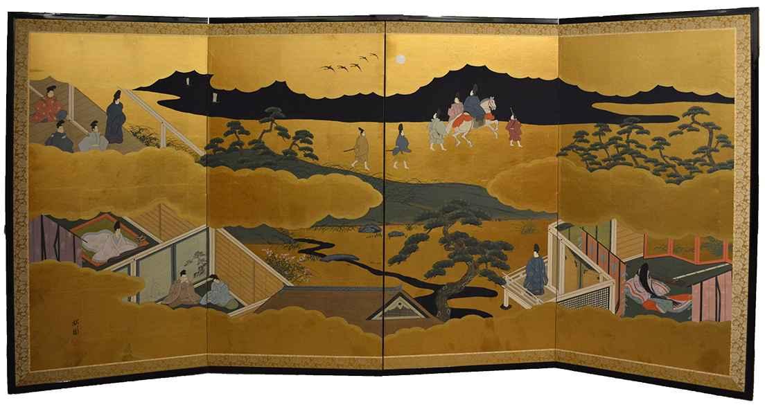 Genji (Suetsumuhana) by  Oh-en Tanaka - Masterpiece Online