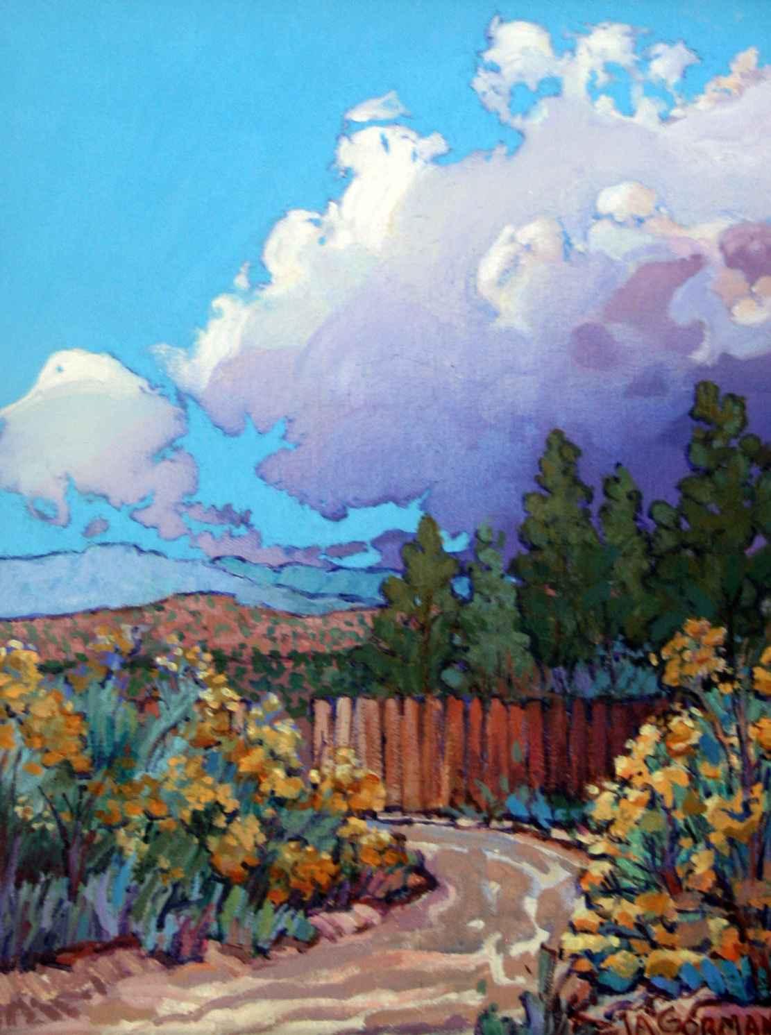 Los Rancho Fence Line by  JA Gorman - Masterpiece Online
