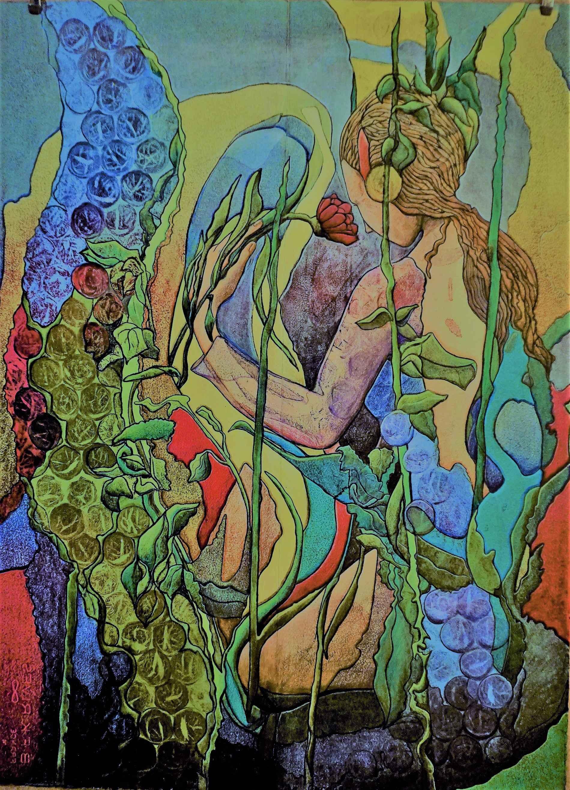The Gardener by  Jewell Riano-Bradley - Masterpiece Online