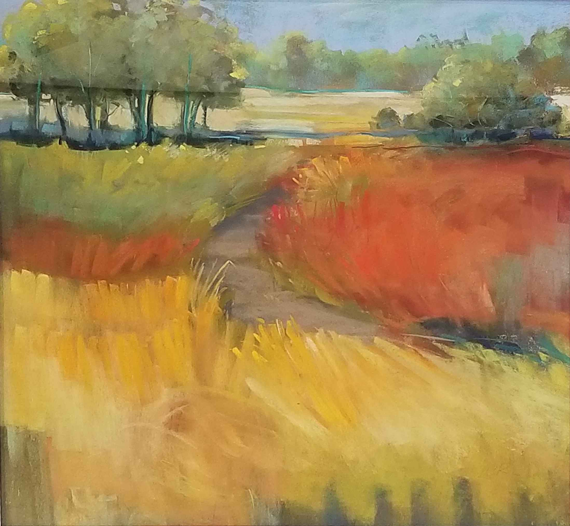 Fall Grasses by  Carol Rowan - Masterpiece Online