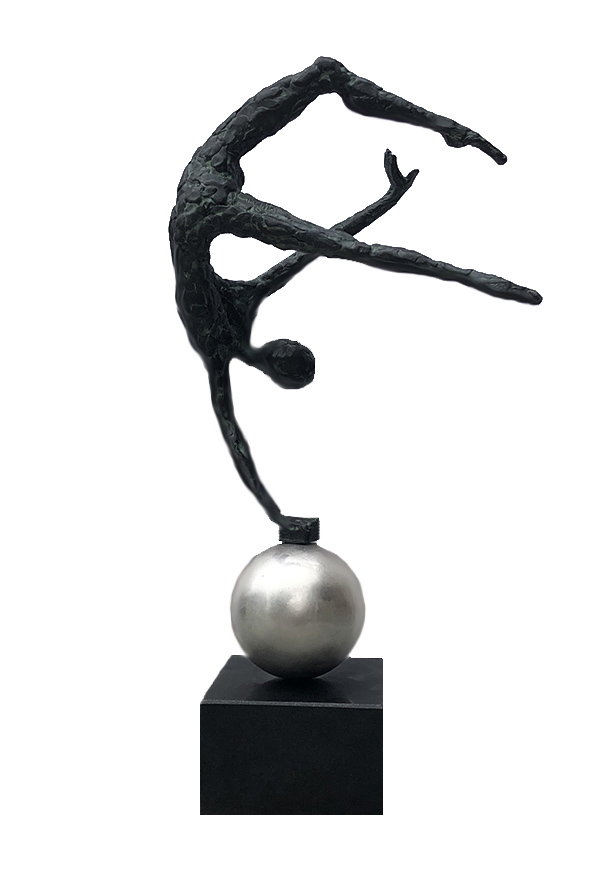 Acrobat On Ball by  Don Wilks - Masterpiece Online