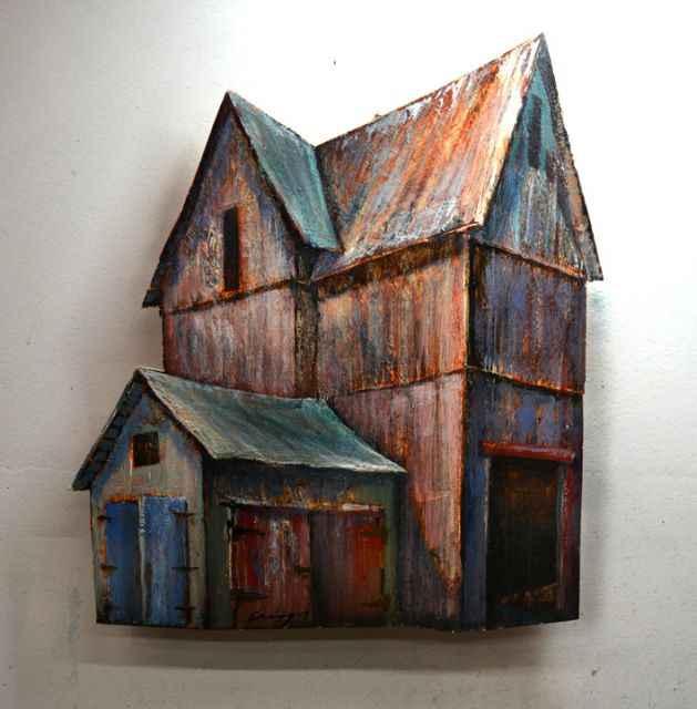 Tall Barn  by  Timothy Basil Ering