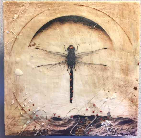 Dragonfly Sea by  Lyn Belisle - Masterpiece Online