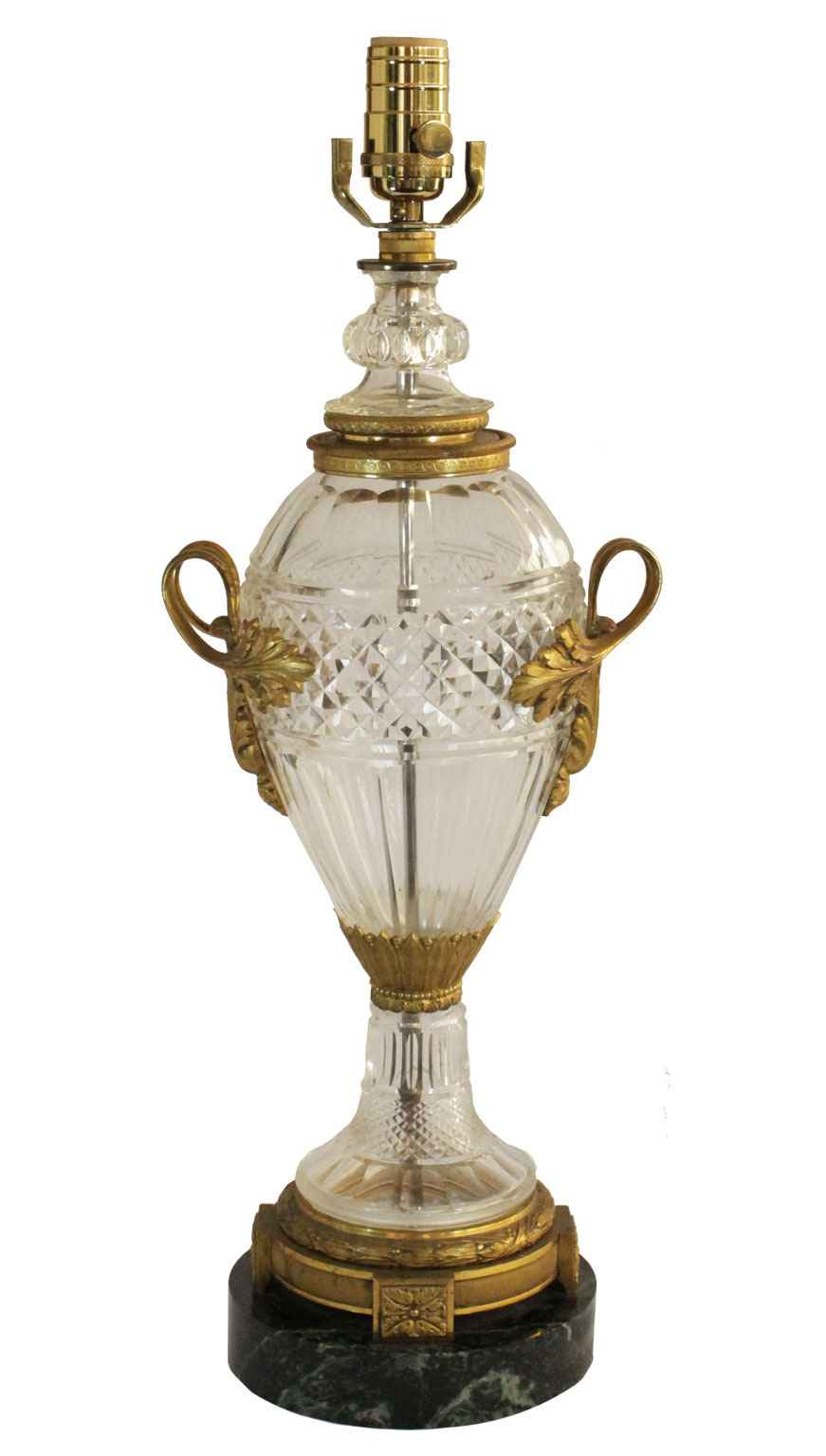 Cut Crystal Urn-form ... by  French  - Masterpiece Online
