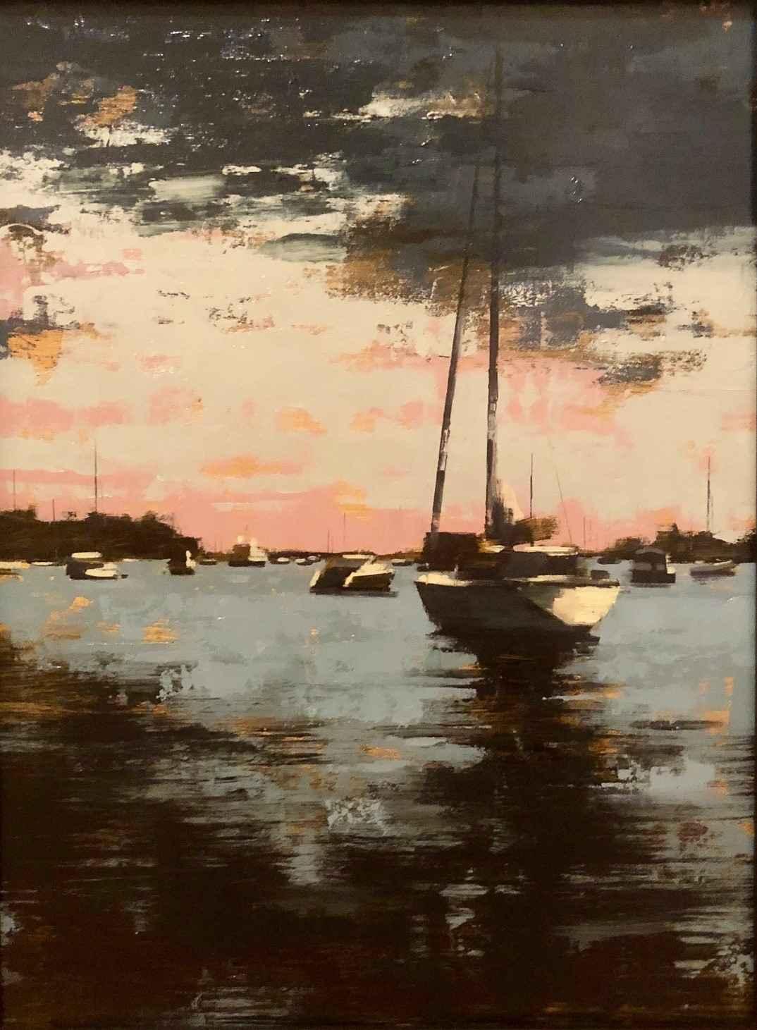 Harbor IV by  Kevin Kusiolek - Masterpiece Online
