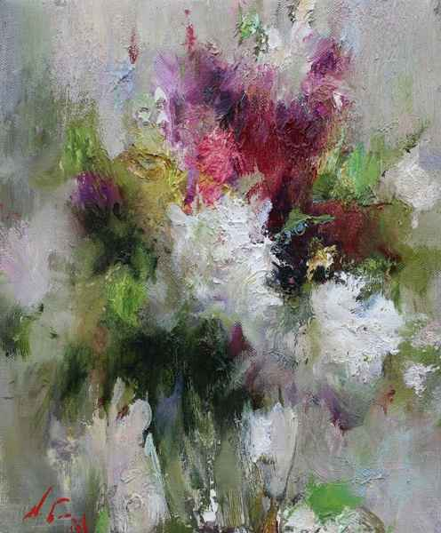 Flowers by  Nikolai  Blokhin  - Masterpiece Online