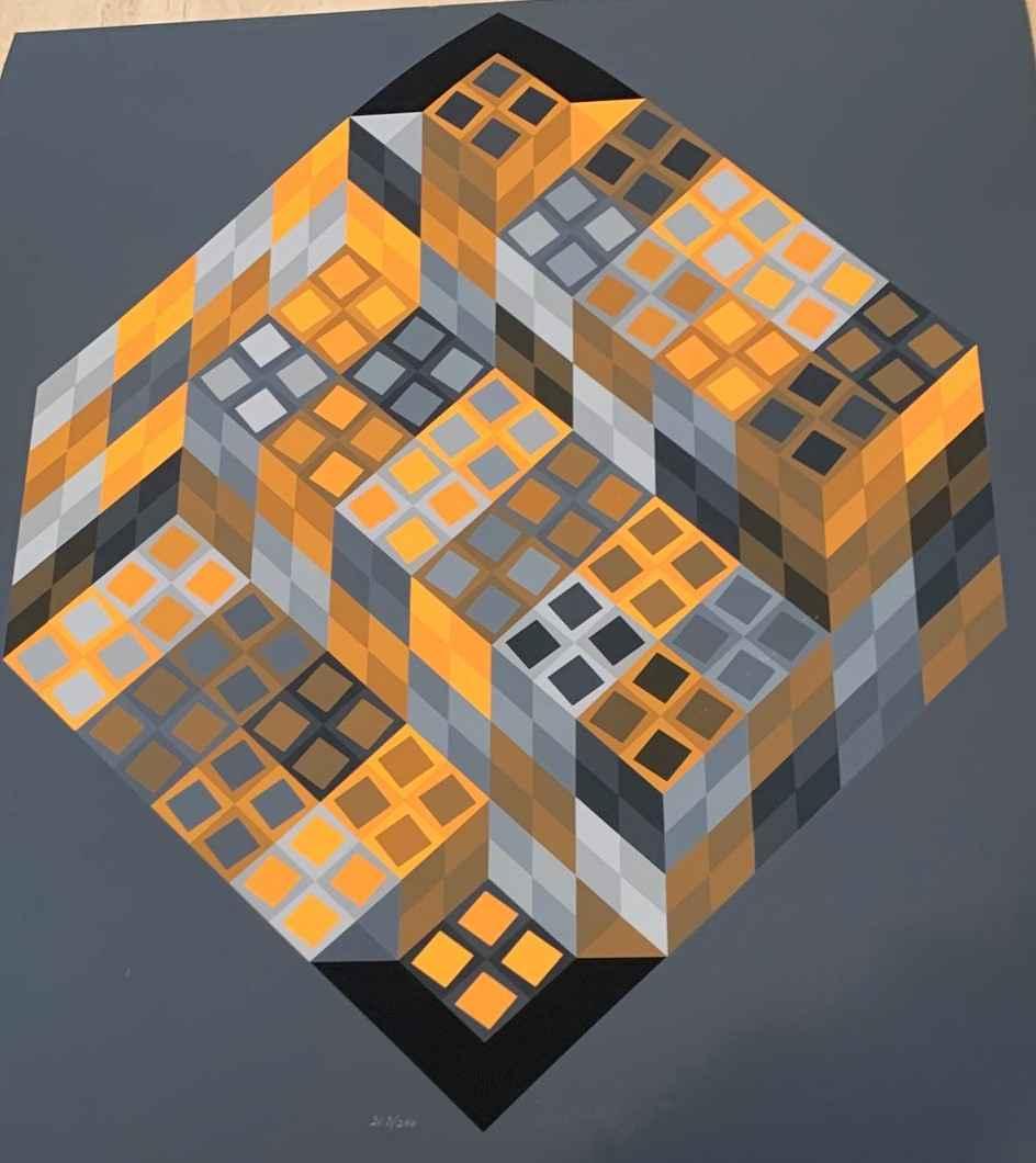 Or-Var by  Victor Vasarely - Masterpiece Online