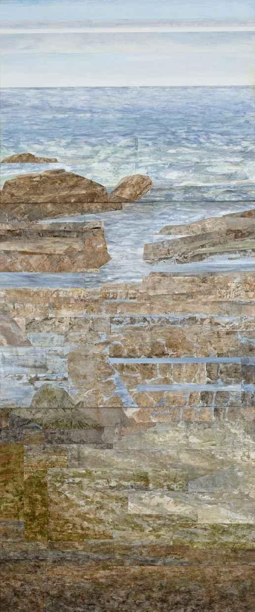 Rocky Shore by Ms. Gwen Davidson - Masterpiece Online