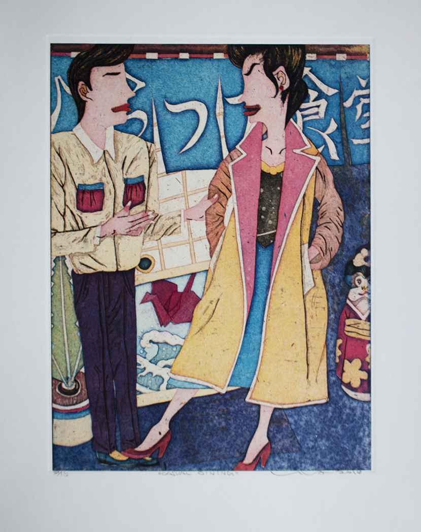 Casual Dining by  Yuji Hiratsuka - Masterpiece Online