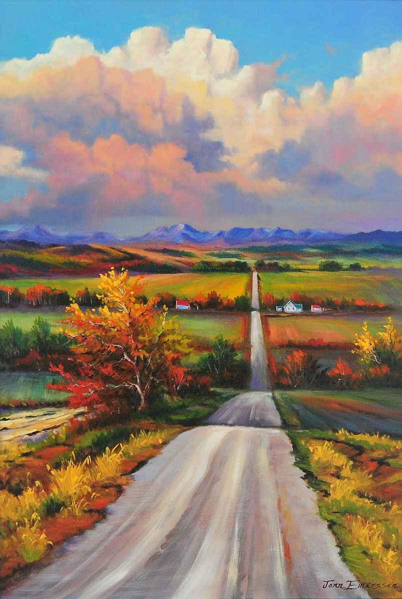 Hill & Dale by  Jonn Einerssen - Masterpiece Online