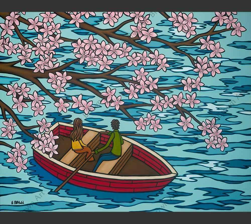 HBLSSN Love and Sakur... by  Heather Brown - Masterpiece Online