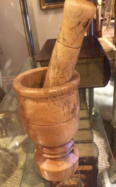 Mortar and Pestle by  Italian  - Masterpiece Online