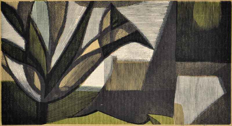 Tree (semi-abstract) by  Bernard Brussel-Smith (1914-1989) - Masterpiece Online