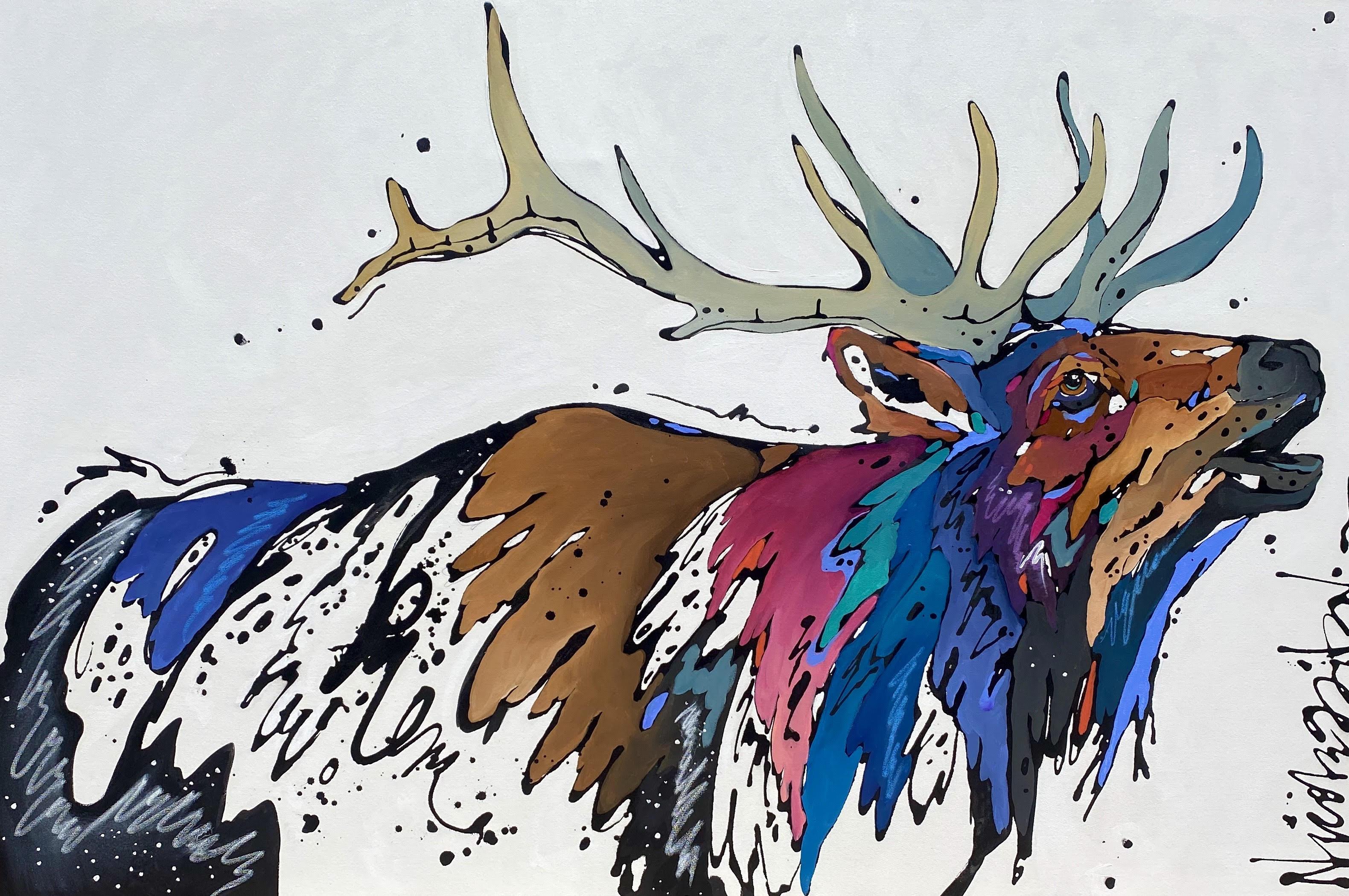 When the Wind Blows by  Nicole Gaitan - Masterpiece Online