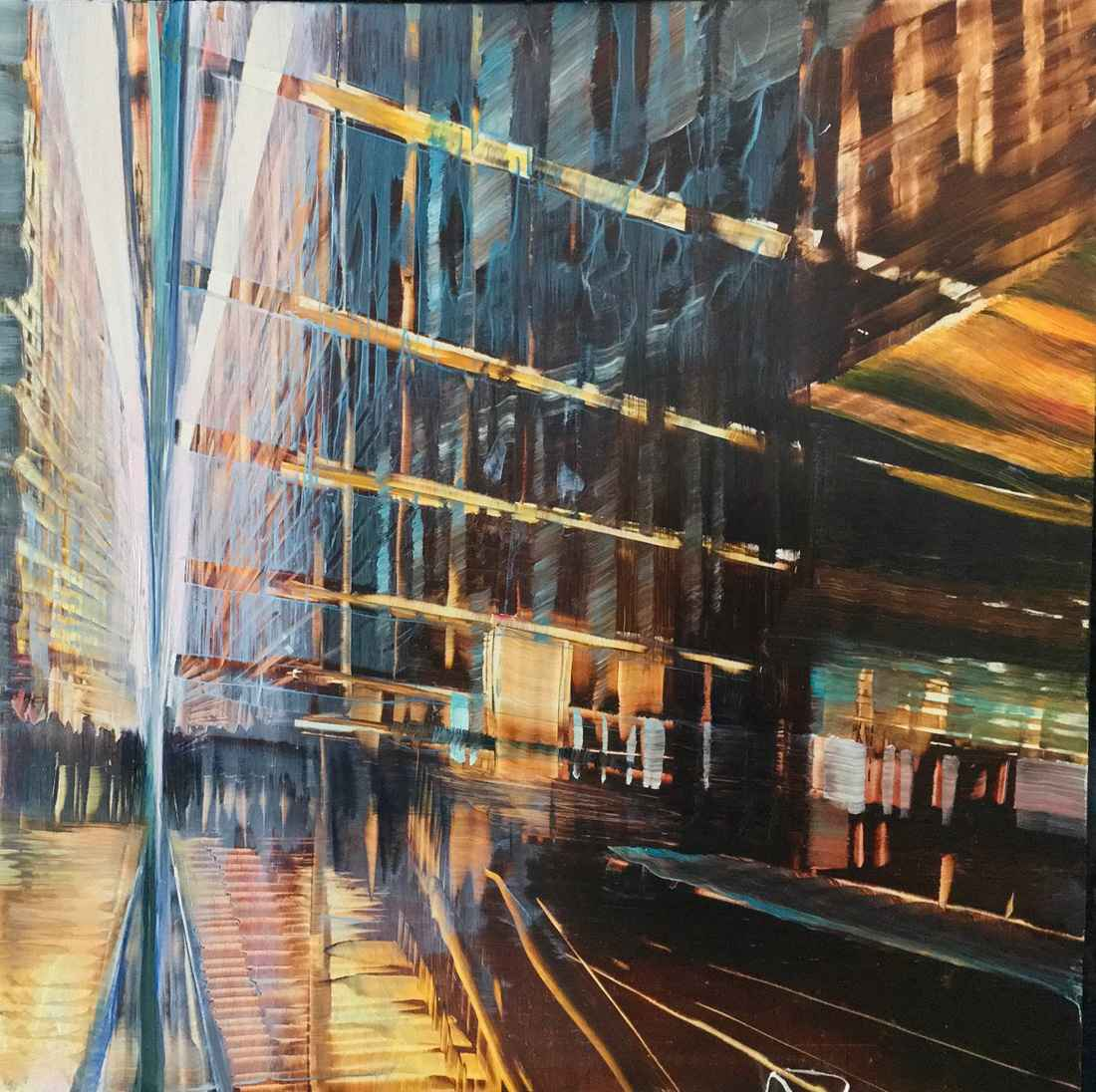 Avenue Window Reflect...  by  David Dunlop