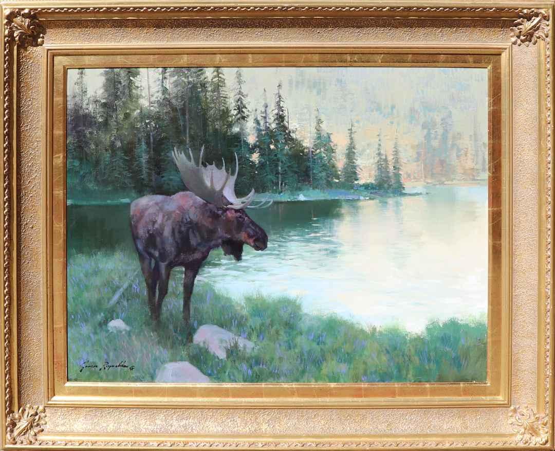 Hidden Lake by Mr. James Reynolds - Masterpiece Online