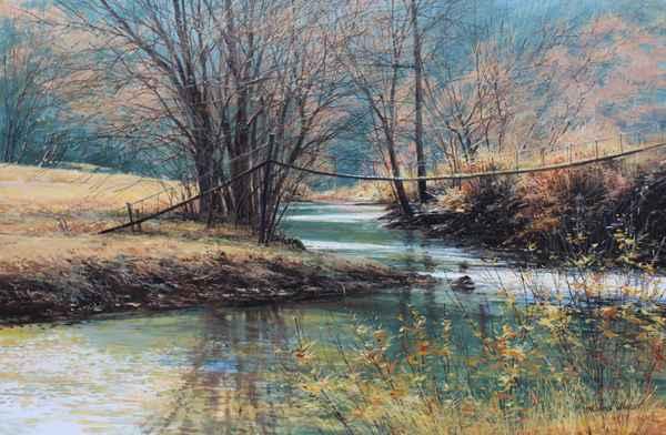 Old Bridge - Bullskin... by  Michael Wheeler - Masterpiece Online