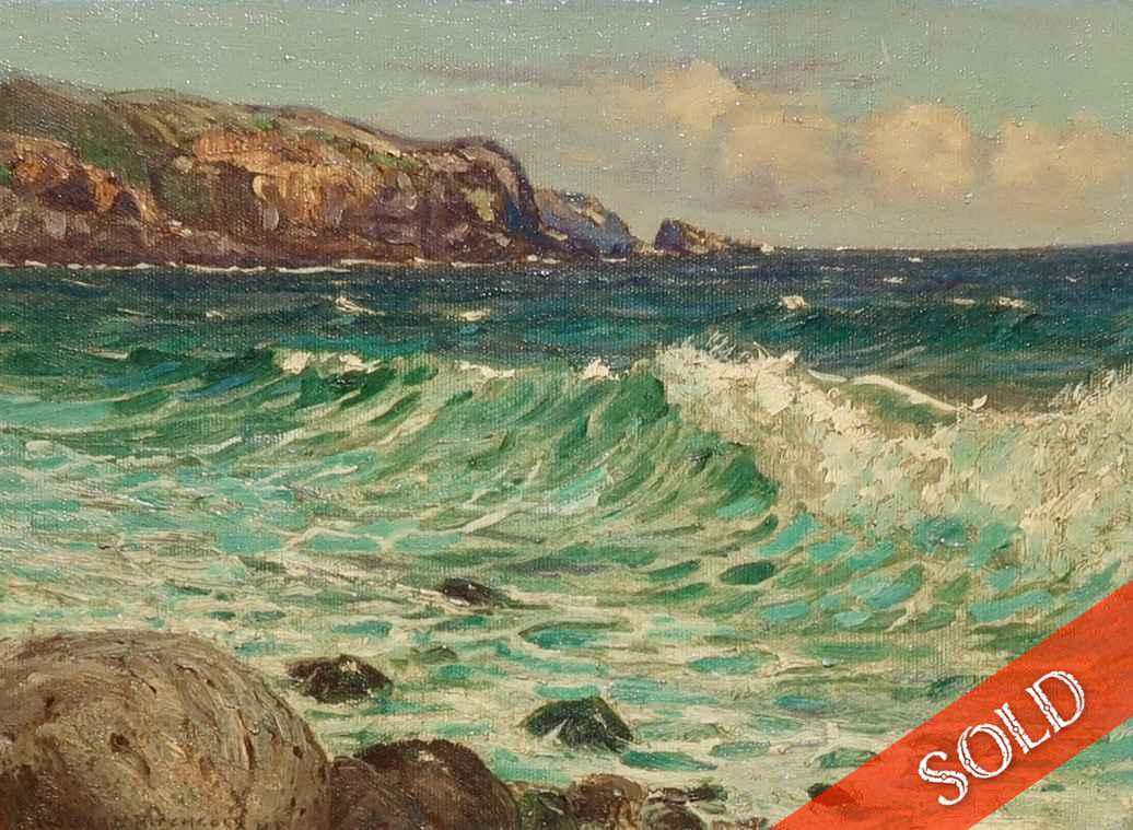 Kahakuloa by  D. Howard Hitchcock (1861-1943) - Masterpiece Online