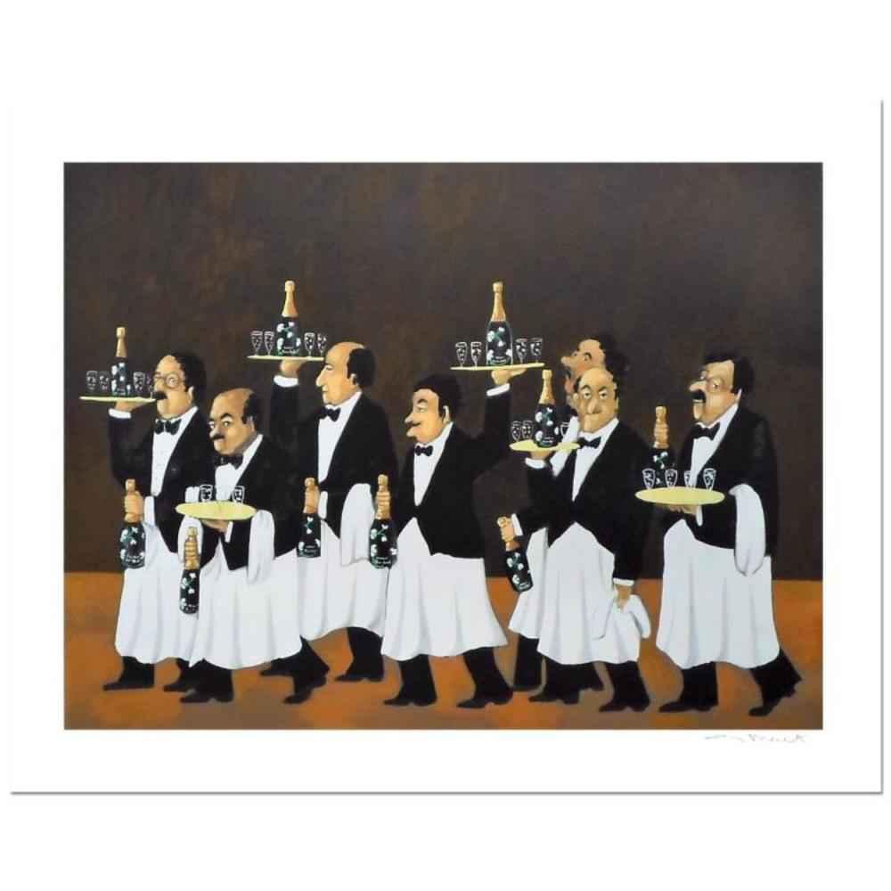 Flower Bottle Brigade by  Guy Buffet - Masterpiece Online