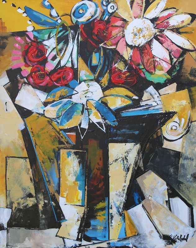 Daughter's Flowers by  Katie Leahul - Masterpiece Online