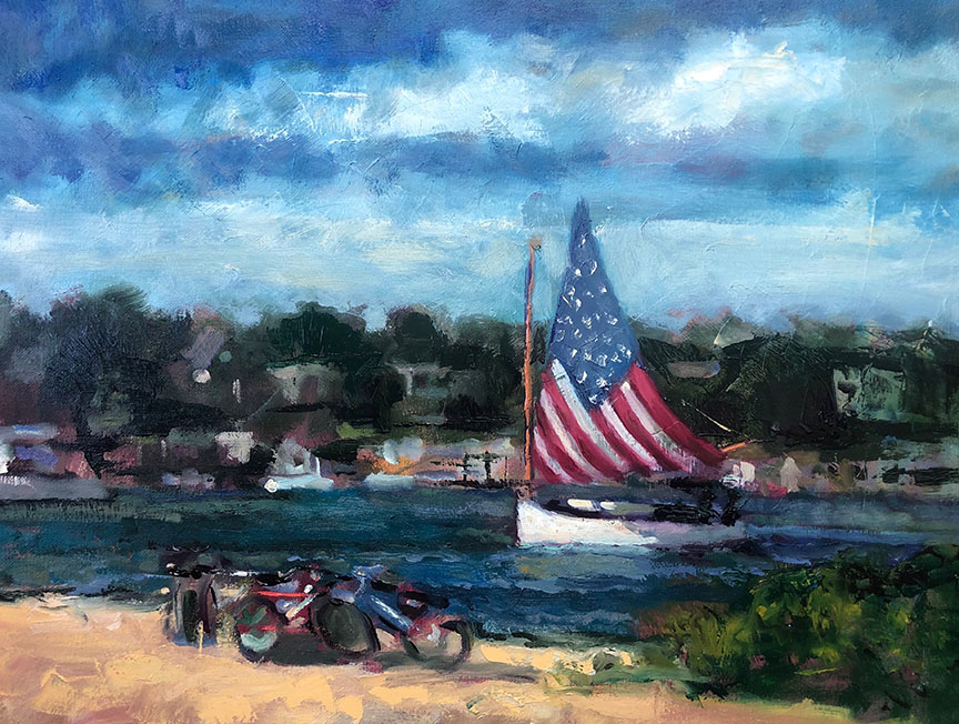 American Catboat by  Brandon Newton - Masterpiece Online