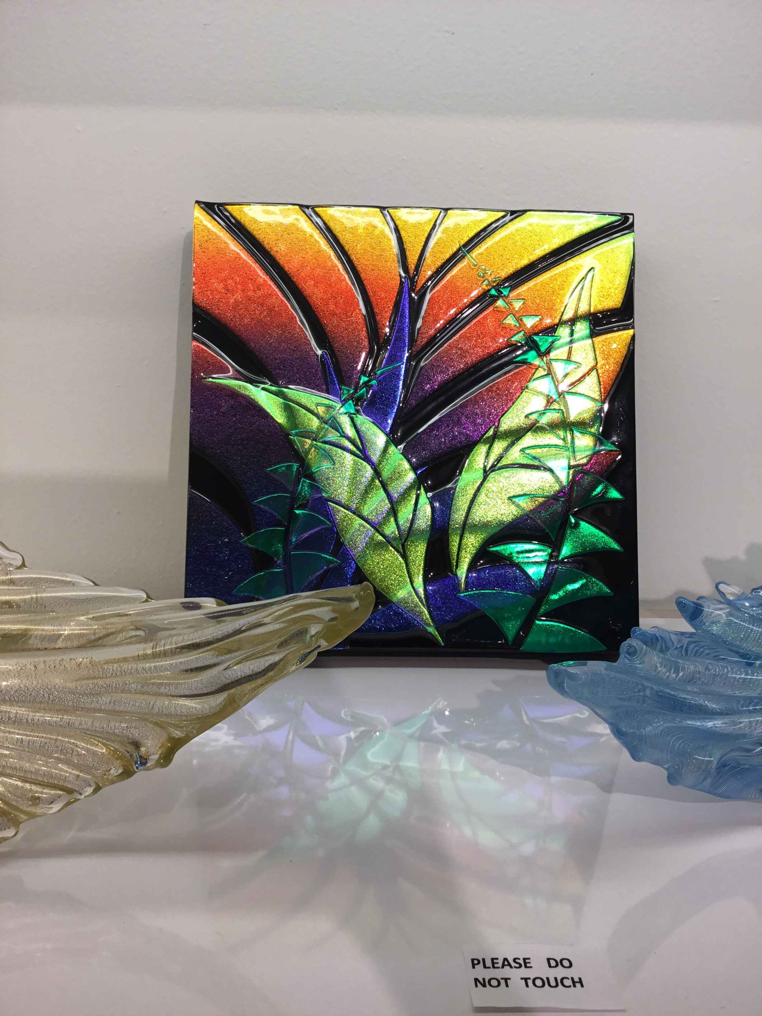 ASBS Dichroic Botanic... by  Ahmad Syed - Masterpiece Online
