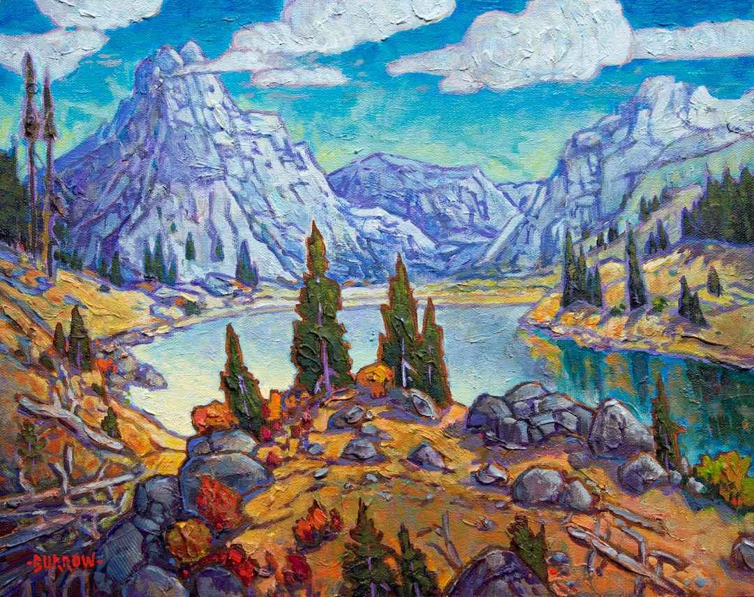 Summit Lake by Mr John Burrow - Masterpiece Online