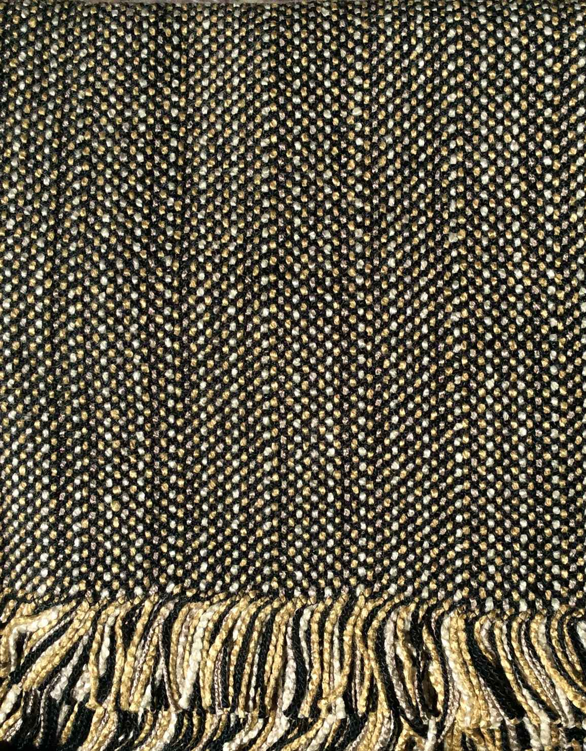 Bamboo Twill Throw-Bl... by    - Masterpiece Online