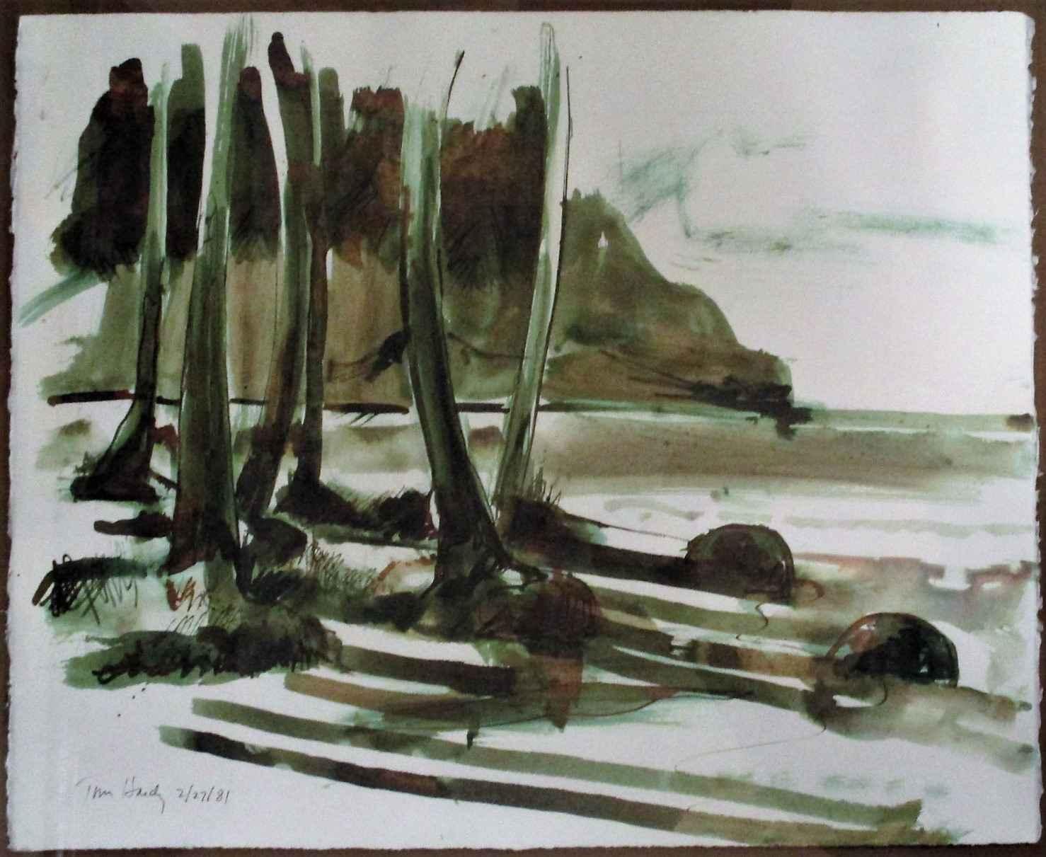 Unknown (beach) by  Tom Hardy - Masterpiece Online