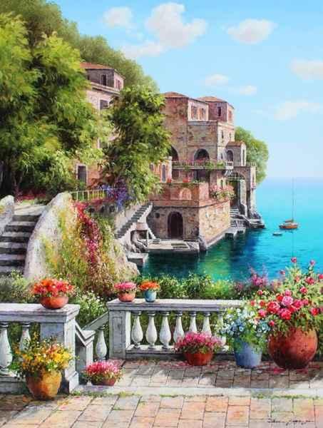 Lakeside by  Soon Ju Choi  - Masterpiece Online
