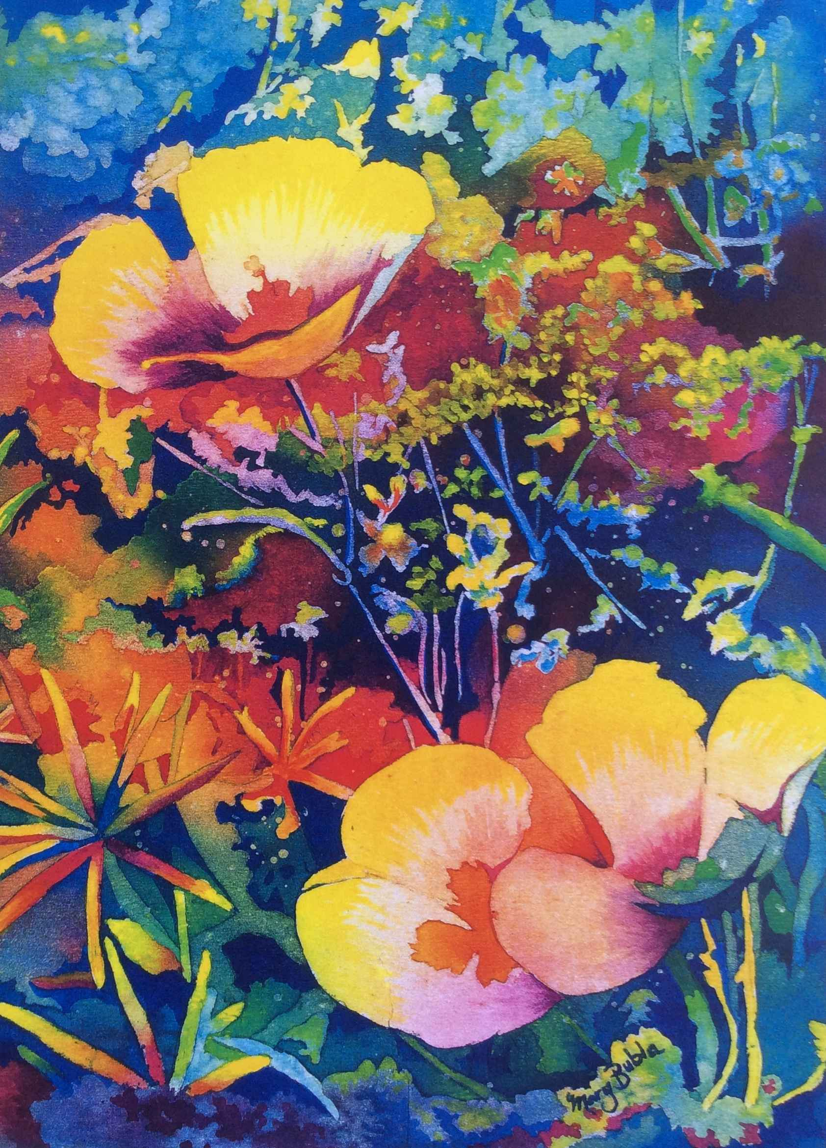Poppies by  Mary Bubla - Masterpiece Online