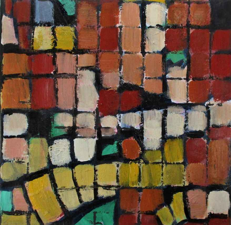Untitled (colored squ... by  Janet Holt - Masterpiece Online