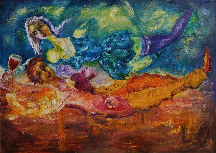 L'ivresse by   TINTIRIS - Masterpiece Online