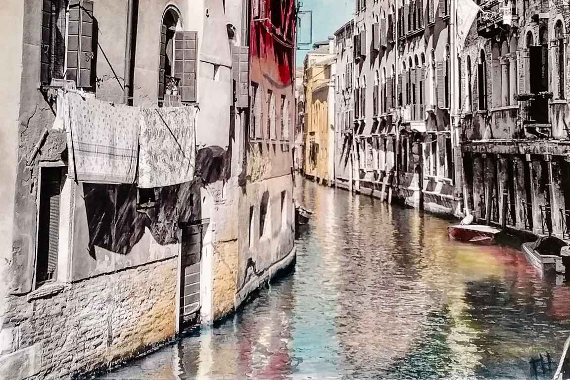 Buildings in the Water by  Projet PHOTOPAINT - Masterpiece Online