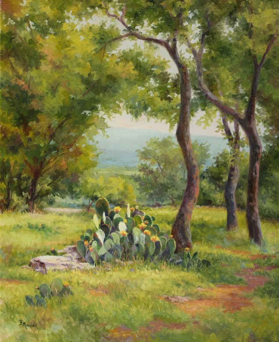 Along the Path by  Barbara Mauldin - Masterpiece Online
