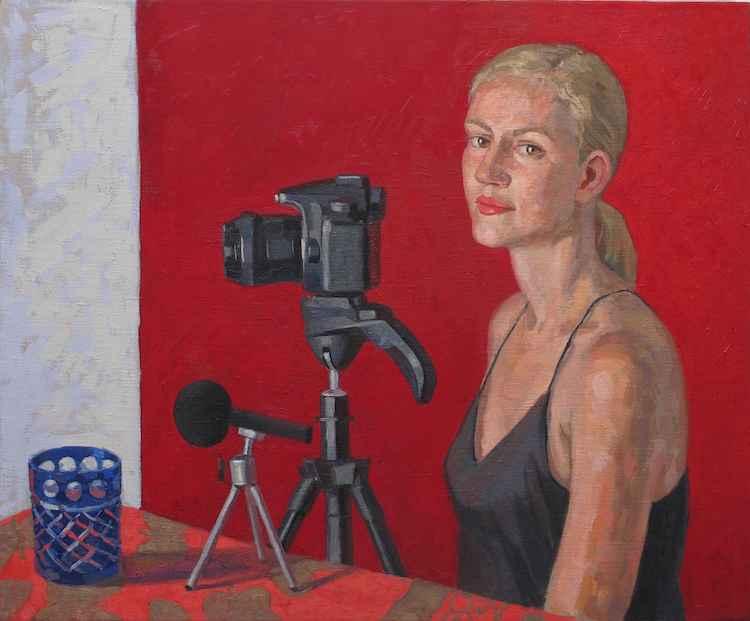 Helene Hayman: Portra... by  Melissa Hefferlin - Masterpiece Online
