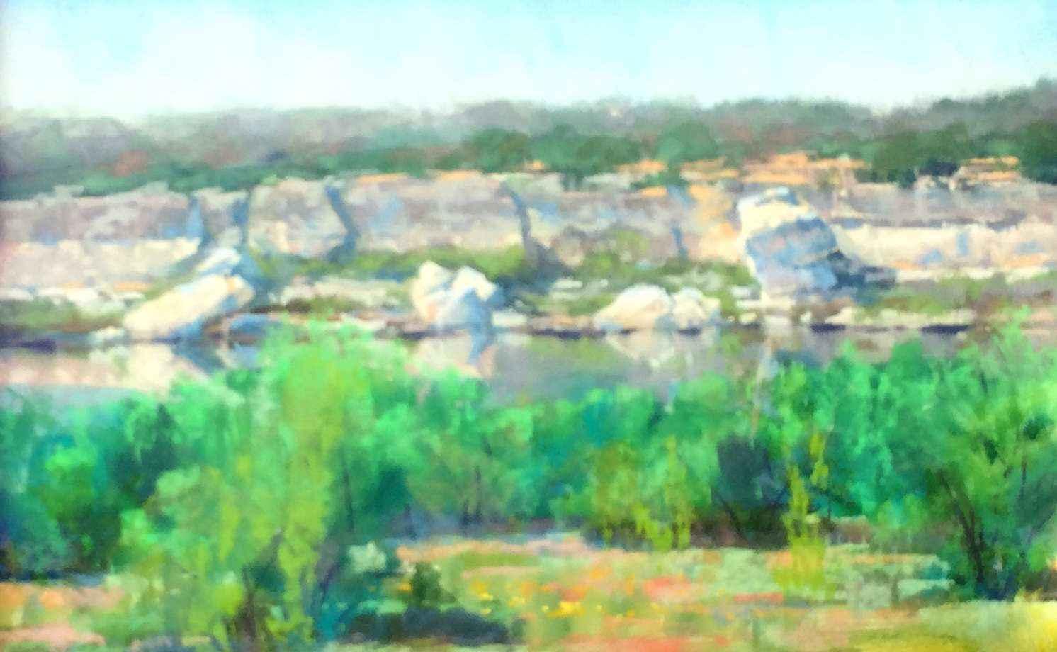 Distant Cliff by Mr Bob Rohm - Masterpiece Online