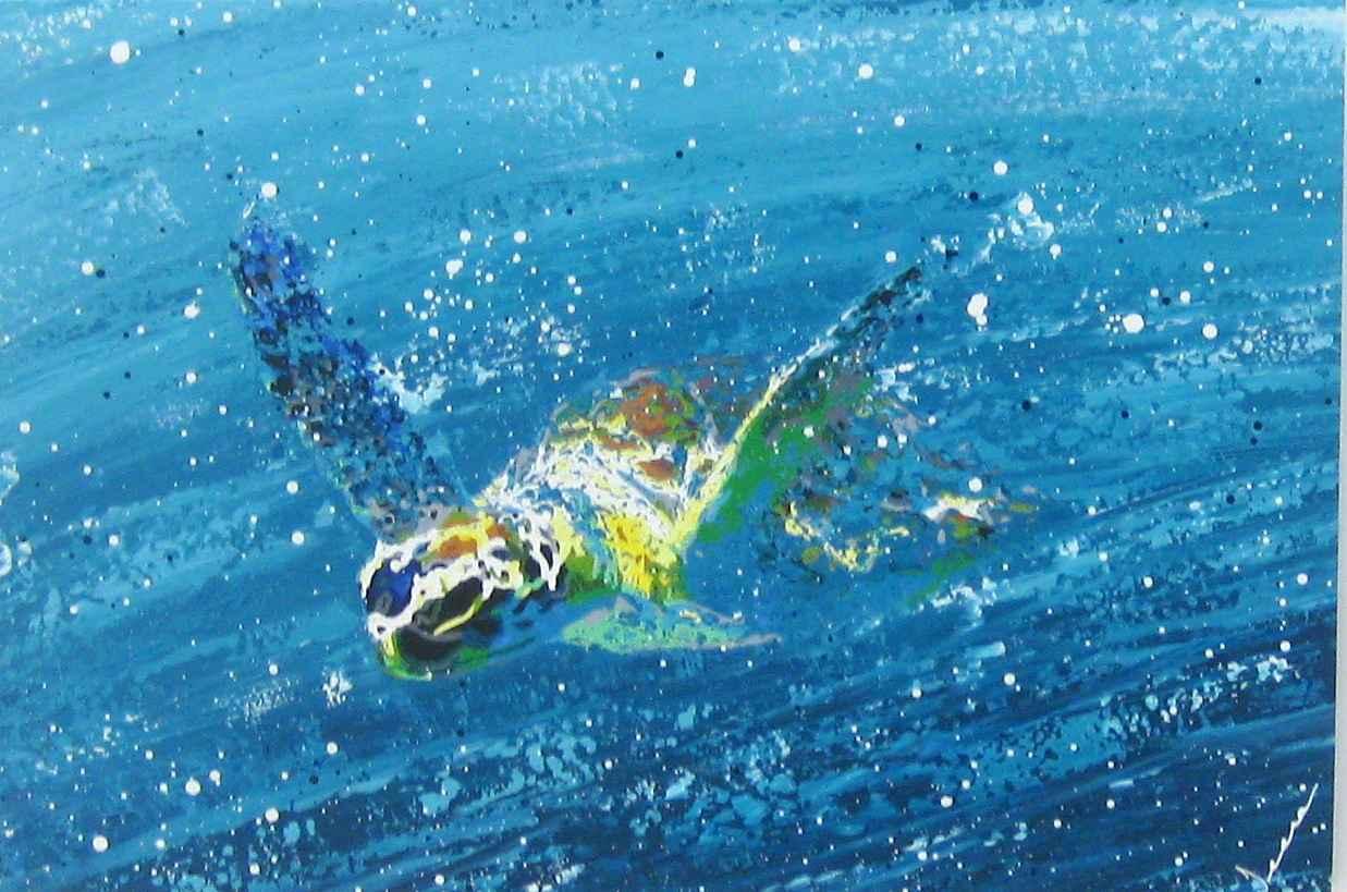 Ocean Spirit by  Jeena Chatrani - Masterpiece Online