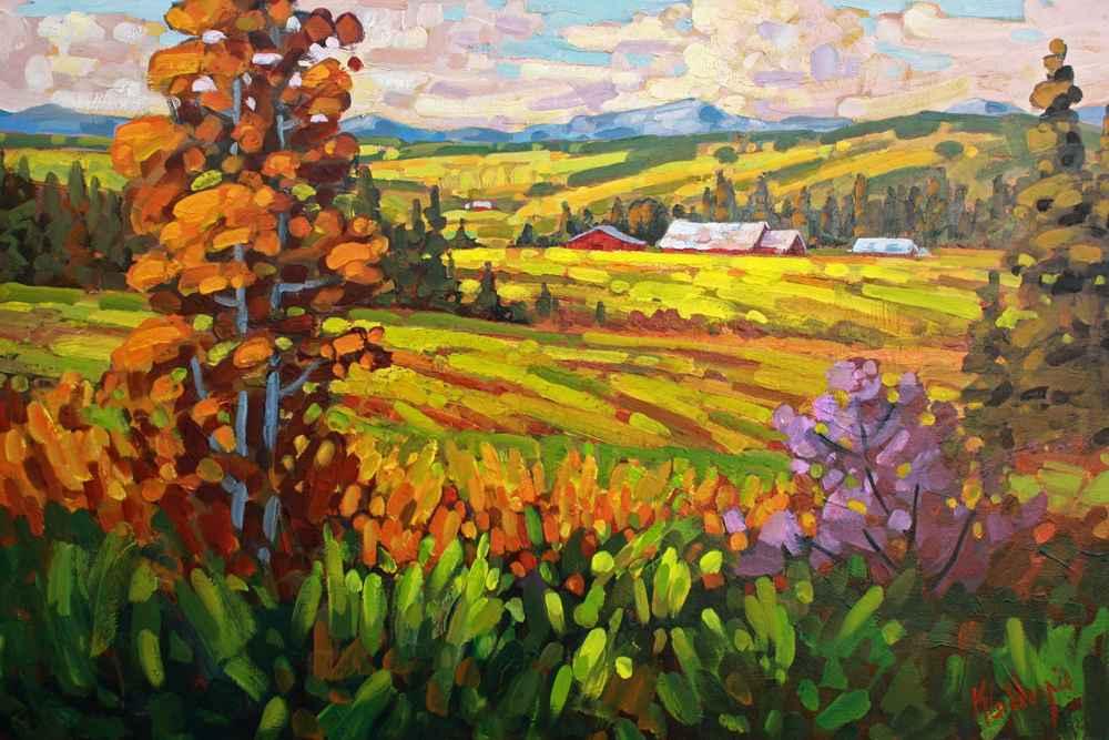 Looking West  by  Ken Gillespie