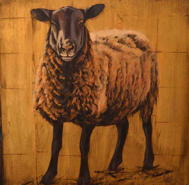 Gold Sheep III by  Larry Rich - Masterpiece Online